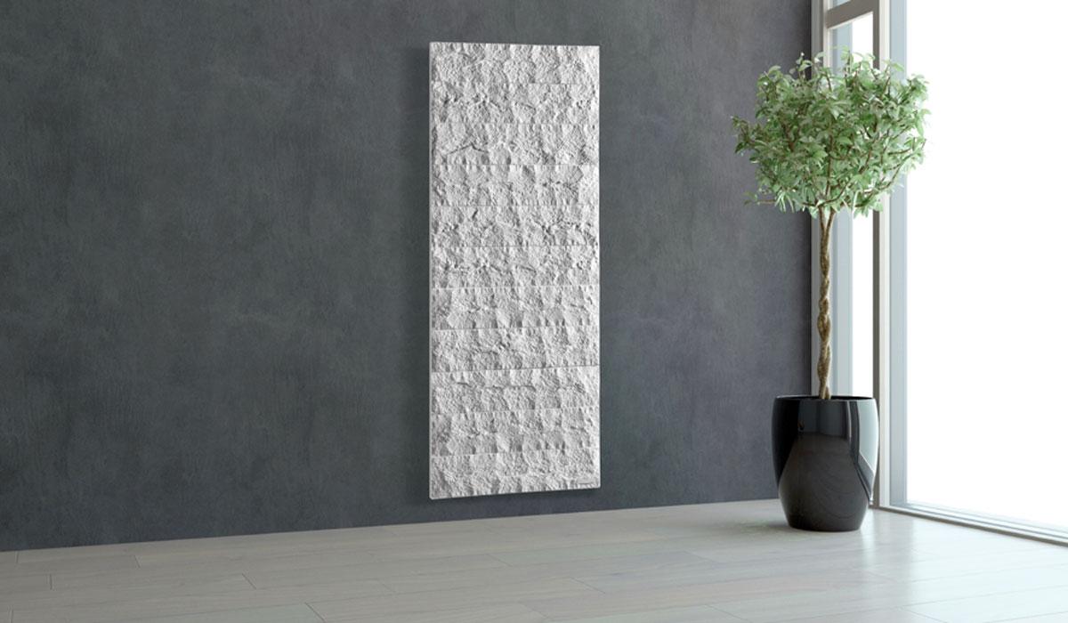 Stone effect radiators