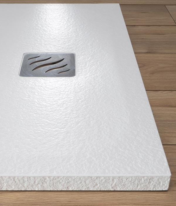 piatto doccia in stonecore effetto pietra