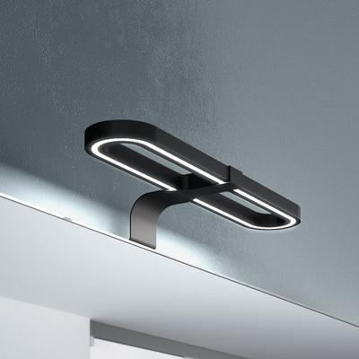 Applique led ovale per specchio bagno modello Izar
