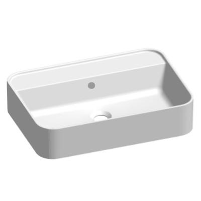 lavabo in appoggio bianco