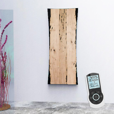 Electric wood radiator