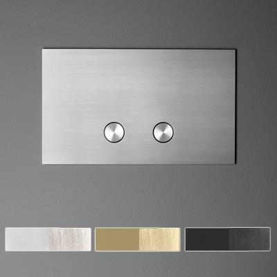 Placca per cassetta wc