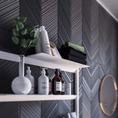 Dama aluminium shelf