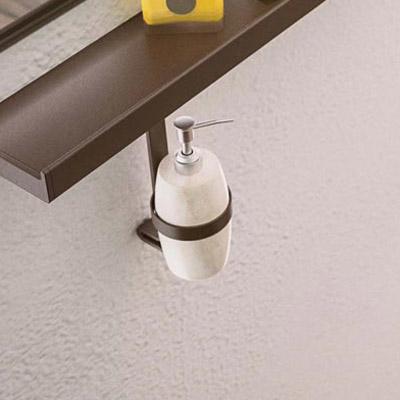 Aluminum dispenser holder