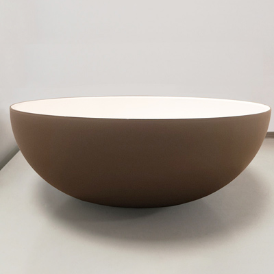 Fenix round countertop basins