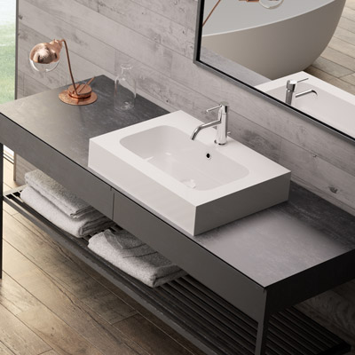 Bahia countertop or wall-hung basin