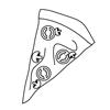 Barriera protettiva con serigrafia personalizzata per pizzerie