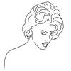 Barriera protettiva con serigrafia personalizzata per saloni e parrucchieri