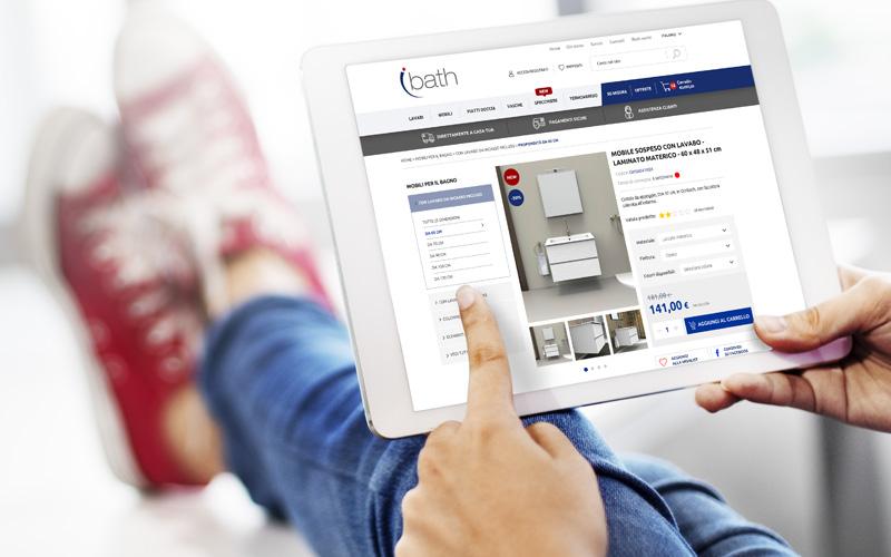 con ibath acquistare on-line è semplice e veloce